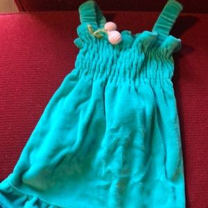 Size M small dog dress